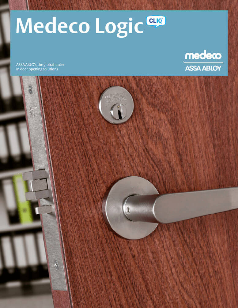 Commercial Lock Change-Medeco Logic-Cliq-1 Response Locksmith Miami Florida